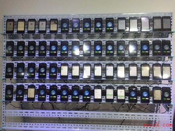 """""""手机墙""""4个月""""刷单""""骗走1200余万元 - """"流量造假""""乱象何时休?"""