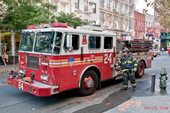 纽约市消防局丢失载有员工医疗记录和社会保险号的硬盘