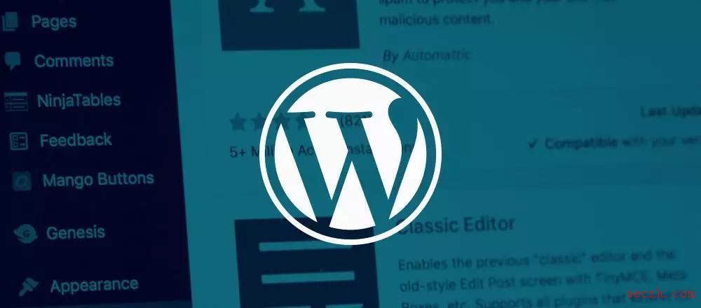 WordPress 插件 bug 允许攻击者远程重置网站内容