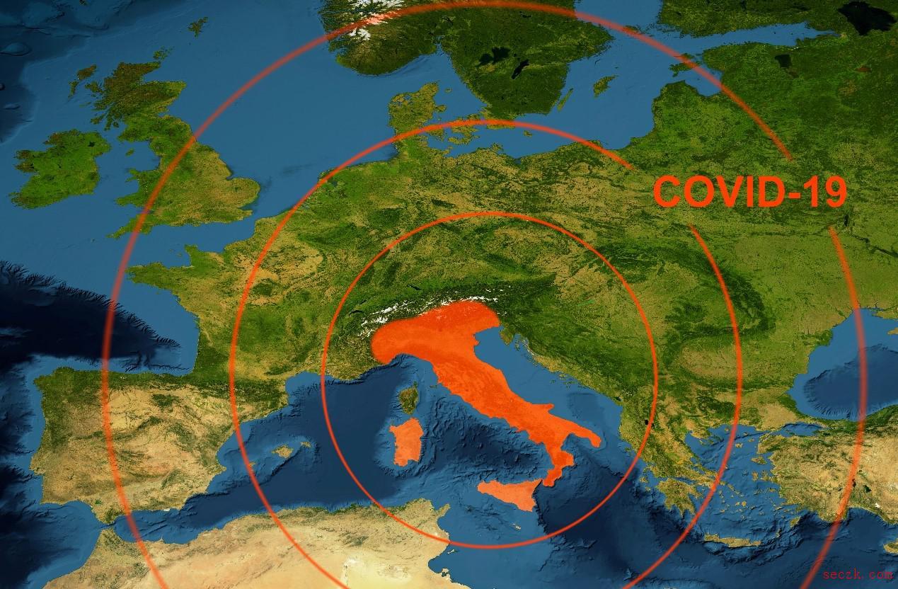 新冠重灾区意大利面临两大网络安全威胁